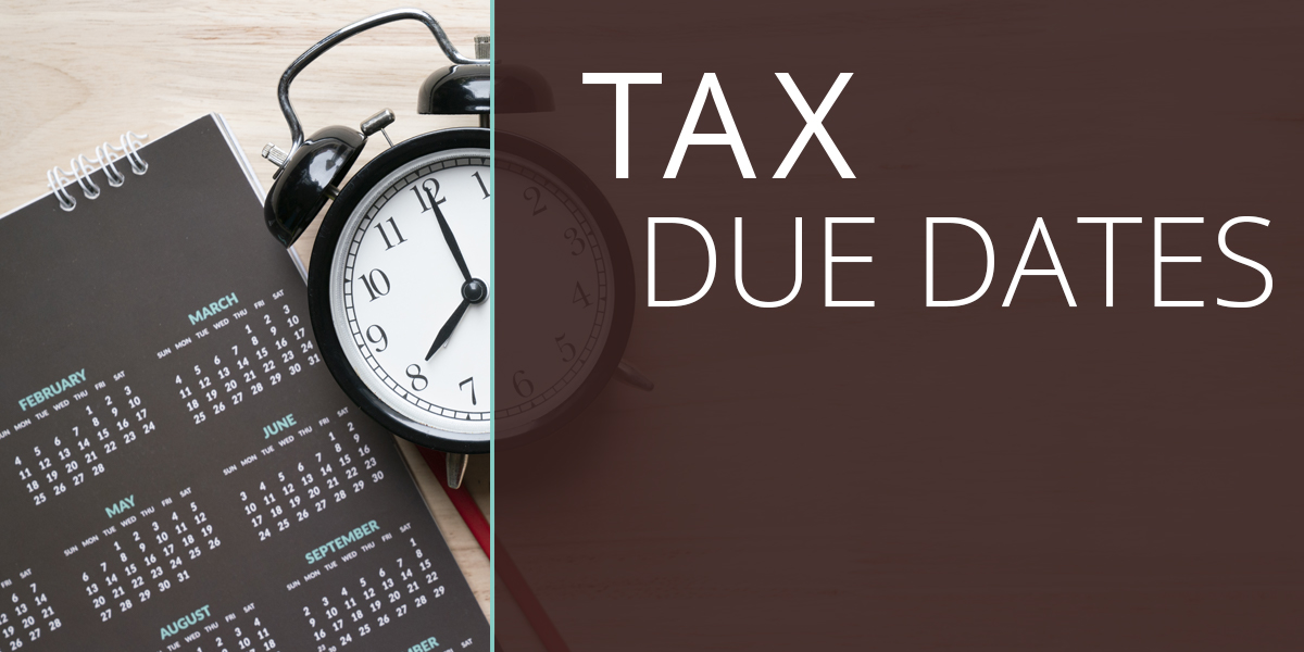 Tax Due Dates 2021
