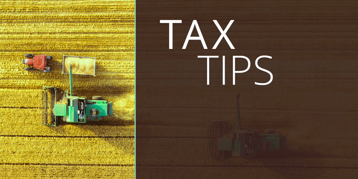 tax tips for farming income and expenses